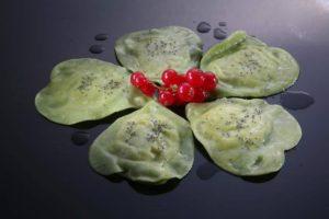 BiancoLatte a Crodo, in Valle Antigorio - Ugo Facciola - Ravioloni verdi di patate di Locatelli Luca e Formaggio Bondolero di Simonetti Stefano